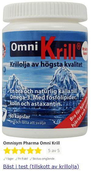 omega red krillolja