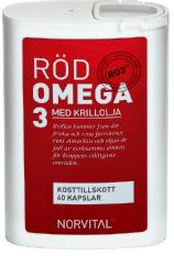 Röd Omega 3
