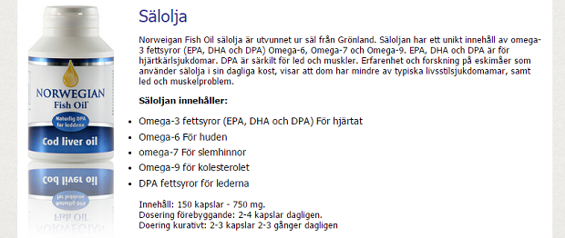 omega 3 kapslar biverkningar